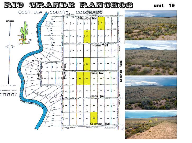 Rio Grande Ranchos In Colorado